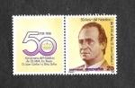 Stamps Spain -  Edf 2928 - 50º Aniversario del Natalicio de SS.MM. los Reyes de España
