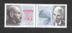 Sellos del Mundo : Europa : España : Edf 3964-3965 - Premio Nobel Españoles