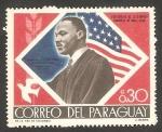 Sellos del Mundo : America : Paraguay : Martin Luther King, Nobel de la Paz