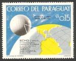 Sellos del Mundo : America : Paraguay : Satélite de comunicaciones, lanzado en Florida