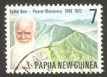 Stamps : Oceania : Papua_New_Guinea :  317 - Reverendo Padre Williams Ross, misionero