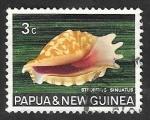 Stamps : Oceania : Papua_New_Guinea :  Caracola strombus sinuatus