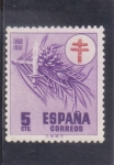 Stamps Spain -  PRO-TUBERCULOSOS-CRUZ DE LORENA (34)