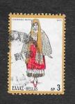 Sellos de Europa - Grecia -  Mujer