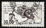 Stamps : America : Brazil :  300 años de la muerte de Henrique Dias