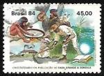 Stamps : America : Brazil :  50 años de la publicación del libro Casa Grande e Senzala