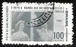 Stamps : America : Brazil :  Rey Baudouin y Reina Fabiola visitan Brasil