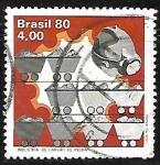 Stamps : America : Brazil :  Industria de carbón de piedra