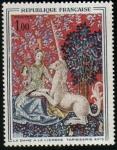 Stamps France -  Tapisería del siglo XV