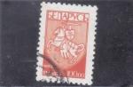 Sellos de Europa - Bielorrusia -  CABALLERO MEDIEVAL