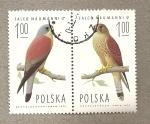 Stamps Poland -  Halcones