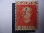 Sellos de Europa - Holanda -  Queen Juliana (1909-2004) - De frente. Países Bajos.