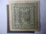 Sellos de Europa - Austria -  Mercurio - Sello de Periódico 1921/22.