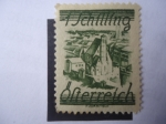 Stamps Austria -  Minorities Church - Catedral Gótica. Innerestadt (Viena)