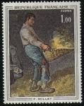 Stamps : Europe : France :  F. Millet