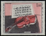 "Stamps : Europe : France :  ""El violín Rojo"" R. Dufy"