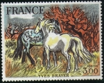 Stamps : Europe : France :  Y. Brayer