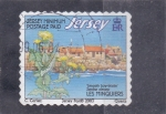 Stamps  -  -  JERSEY-Intercambio