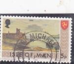 Stamps  -  -  ISLA DE MAN-Intercambio