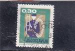 Stamps : Europe : Yugoslavia :  BOMBERO