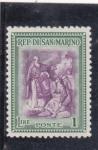Stamps : Europe : San_Marino :  paisaje religioso