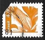 Sellos de America - Brasil -  Maiz