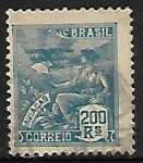 Stamps of the world : Brazil :  Aviación