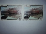 Stamps Poland -  Pintura
