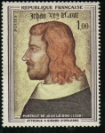 Stamps : Europe : France :  Retrato de Jean II Le Bon