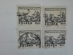 Stamps of the world : Poland :  Cazaria