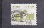 Stamps Brazil -  CAPILLA DE SANTO ANTONIO