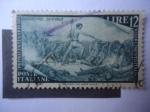Sellos de Europa - Italia -  Primer Centenario del Risorgimento Italiano - Curtatone 24-V-1848