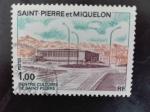 Sellos de America - San Pierre & Miquelon -  Monumento