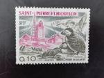 Sellos de America - San Pierre & Miquelon -  Faro