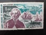 Stamps San Pierre & Miquelon -  Personajes
