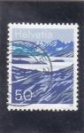 Stamps : Europe : Switzerland :  PAISAJE ALPINO