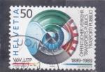 Stamps : Europe : Switzerland :  CENTENARIO DEL TRANSPORTE PUBLICO