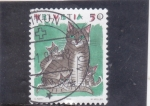 Stamps : Europe : Switzerland :  ILUSTRACIÓN GATOS