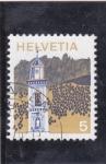 Stamps : Europe : Switzerland :  CAMPANARIO