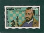 Stamps Asia - Cambodia -  Ajedrez-Ruy Lopez