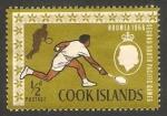 Stamps : Oceania : New_Zealand :  Islas Cook - 116 - II Juegos del Pacífico Sur, Tenis