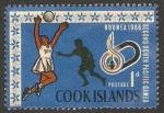 Stamps : Oceania : New_Zealand :  Islas Cook - 117 - II Juegos del Pacífico Sur, voley-ball