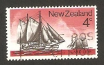 Stamps New Zealand -  629 - Barco Lake Erie