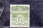 Stamps : Europe : Denmark :  CIFRA