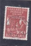 Stamps : Europe : Denmark :  CENTENARIO CARLSBERG FONDET