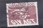 Sellos del Mundo : Europa : Dinamarca :  SEGURIDAD VIAL-BICICLETAS