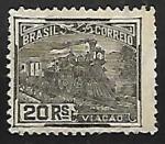 Sellos del Mundo : America : Brasil :  Locomotora