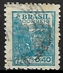 Stamps : America : Brazil :  Agricultura  trigo