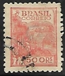 Sellos de America - Brasil -  Agricultura  trigo