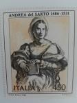Sellos del Mundo : Europa : Italia : Personajes